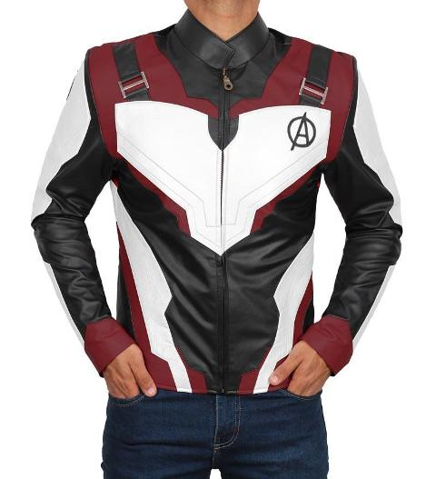 ironman endgame quantum suit jacket