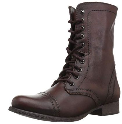 Brown Laceup boots