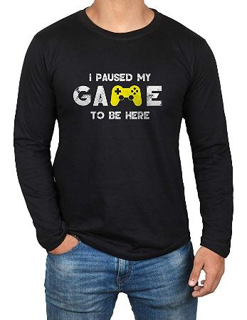 I paused my game shirt