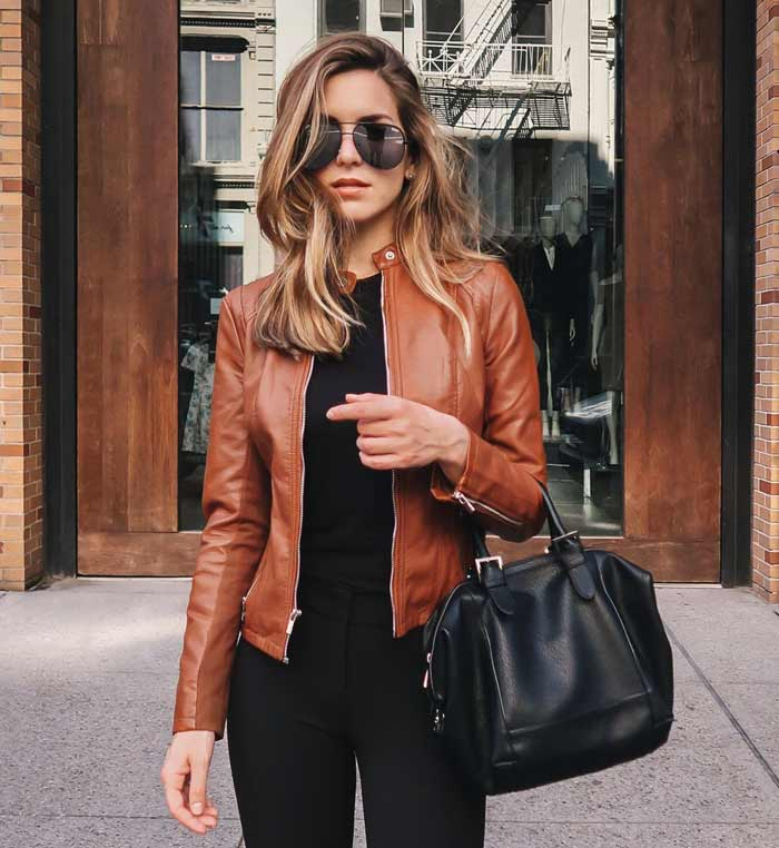 Brown Women Casual Jacket