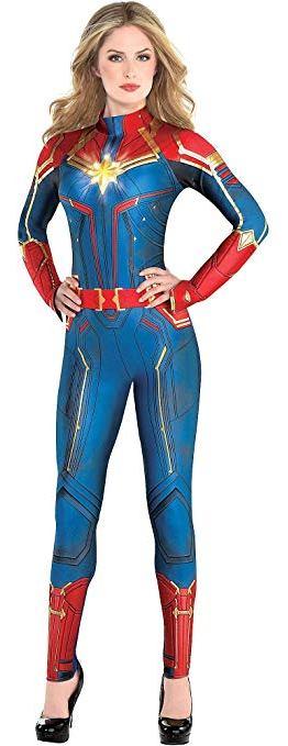 Captain Marvel Costume Suit