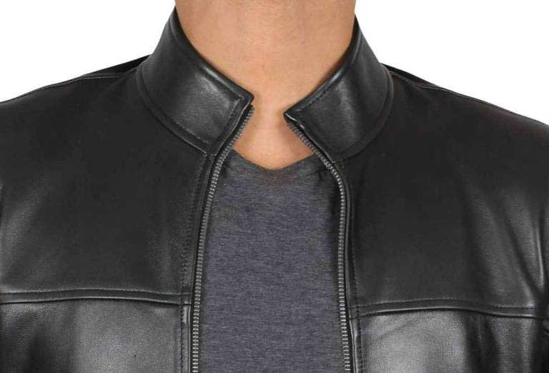 Collar of Leather Jacket