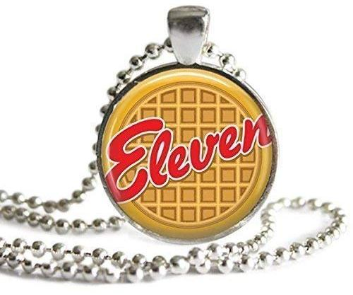 Eleven Eggo Waffle Pendant