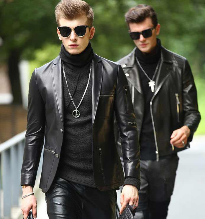 Leather Blazer Jackets
