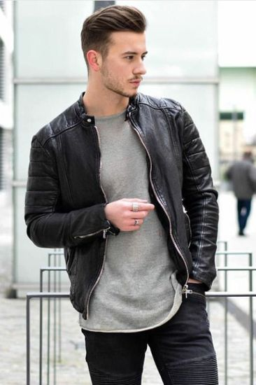 Guide To Wear a Leather Jacket With Jeans
