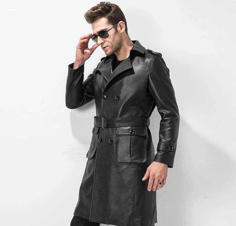 Leather-trench-Coats-style