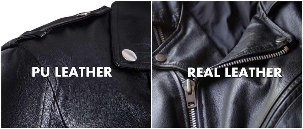 Real Vs PU Leather comparison