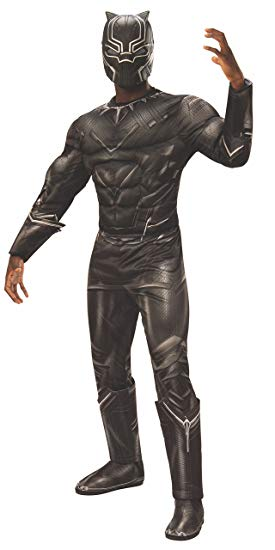 black panther complete suit