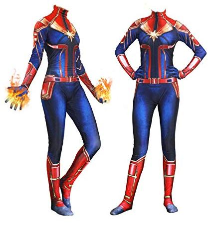 captain marvel suit