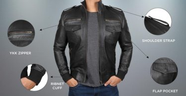 features to look in a leather jacket