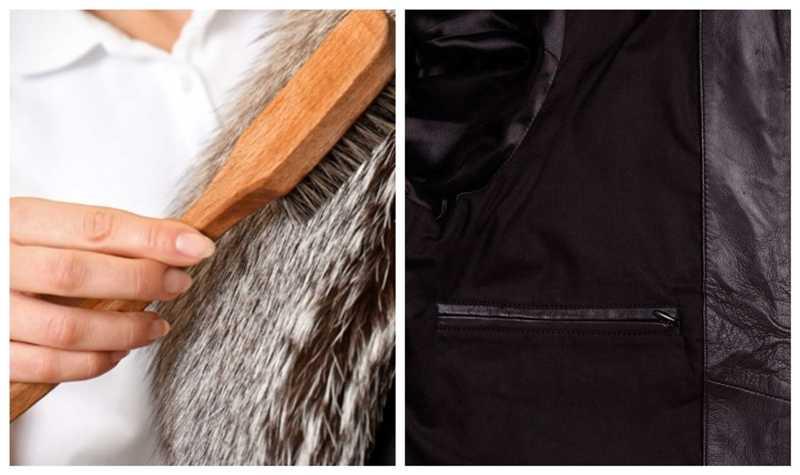 innerlining of leather jacket