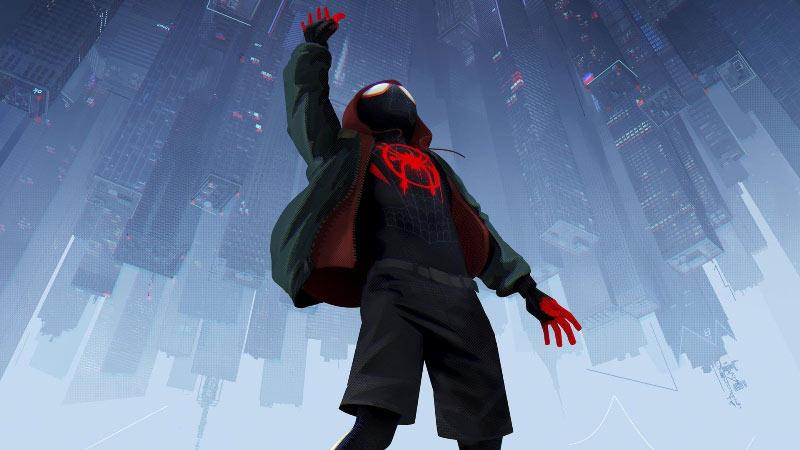 spider man into the spider verse costume