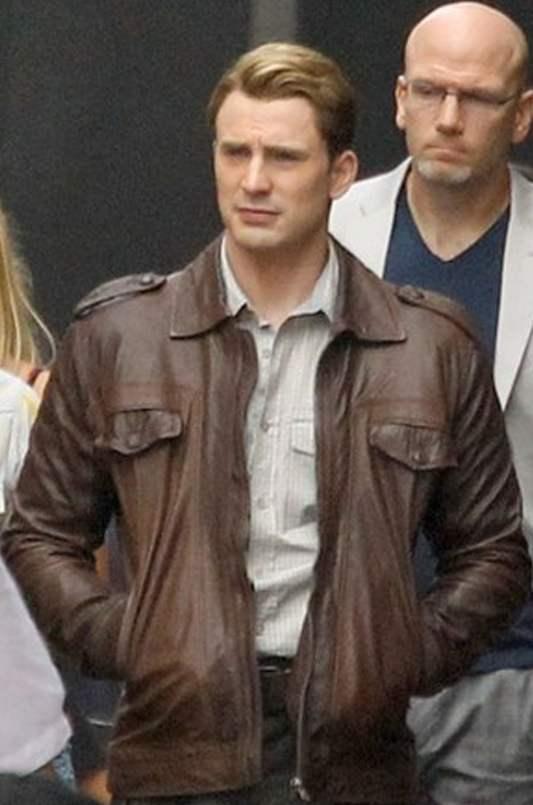 steve rogers brown jackets