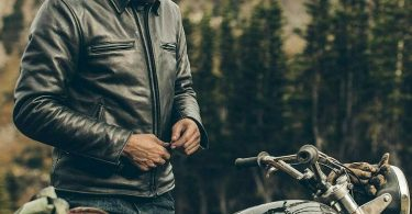 why you should wear a leather jacket when riding a bike