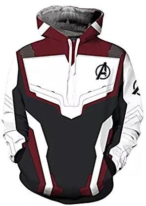 avangers endgame quantum hoodie style