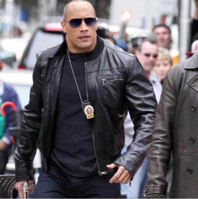 dwayne leather jacket