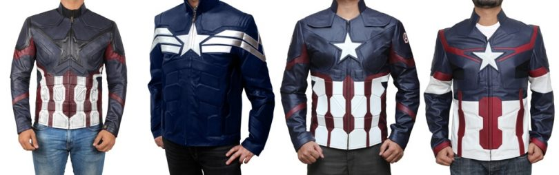 Captain America Jackets Collection