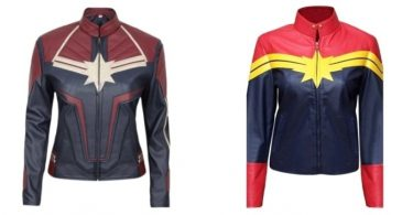 Captain Marvel Jackets