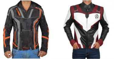 iron man jackets avengers endgame