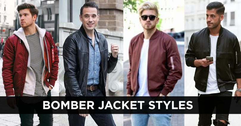 Bomber Jackets styles and colors.