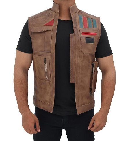 Finn Rise of the Skywalker Vest