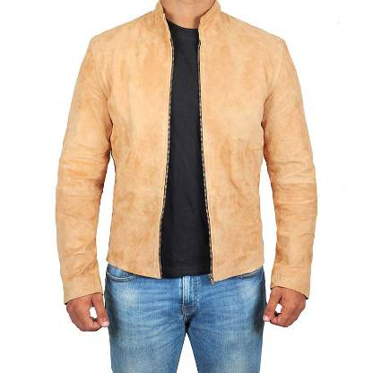 Suede Brown James Bond Jacket