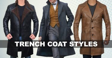 Trench Coat styles men and women