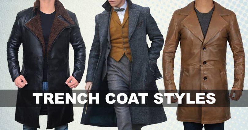Trench Coat styles men and women