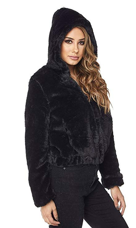 bomber jacket with hood womens