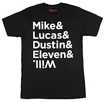 mike lucas dustin eleven t shirt