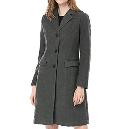 single breasted women trench coat