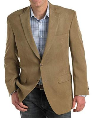 suede camel brown jacket blazer