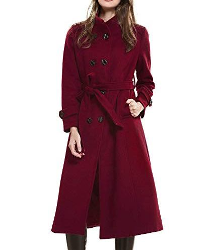 womens double breasted trench coat
