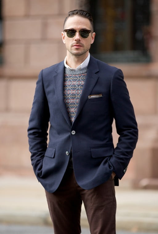 wool blazer jacket