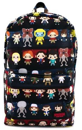 All over Stranger things Backpack