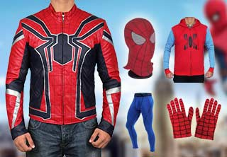 Spiderman costume collection
