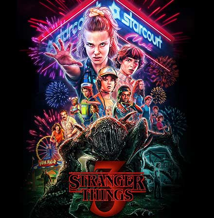 Stranger Things Merchandse Collection