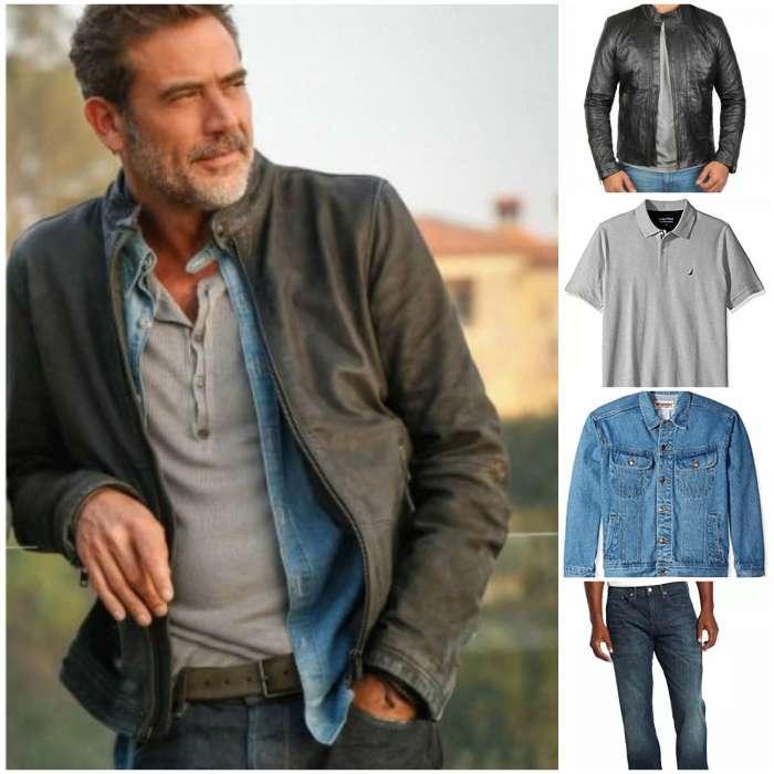 distressed style men jacket
