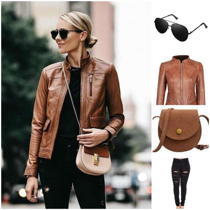 new style brown jacket