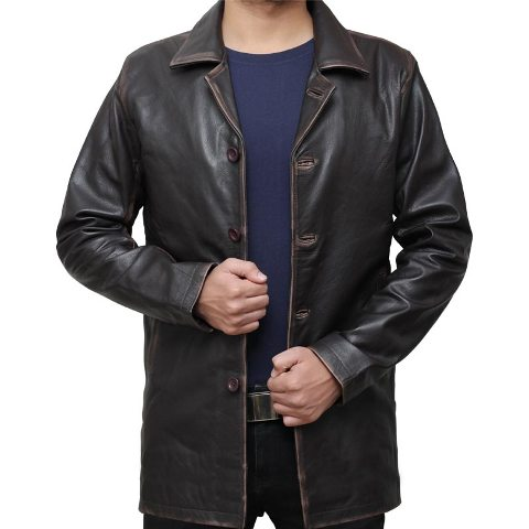 winchester leather jacket for winter