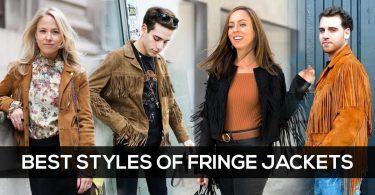 Best Styles of Fringe Jackets