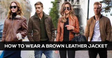 How-To-Wear-A-Brown-Leather-Jacket