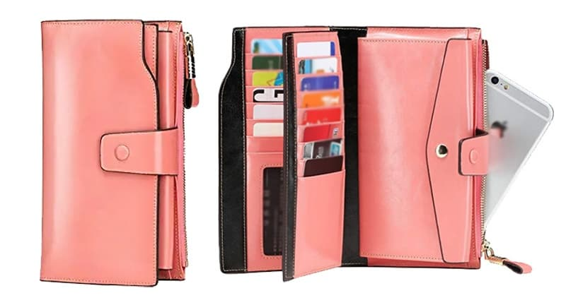 Ladies-leather-wallet