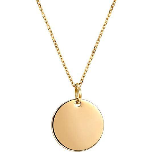 golden pendant necklace men