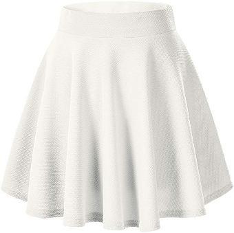 white skirt ladies