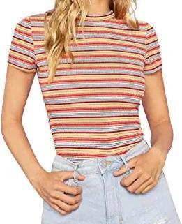 women multicolor shirt