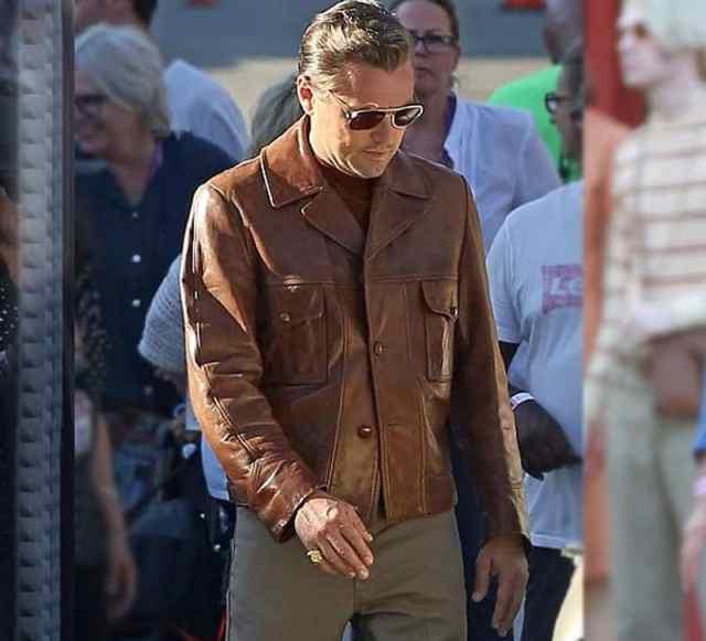 Leonardo Dicaprio Once upon a time jacket