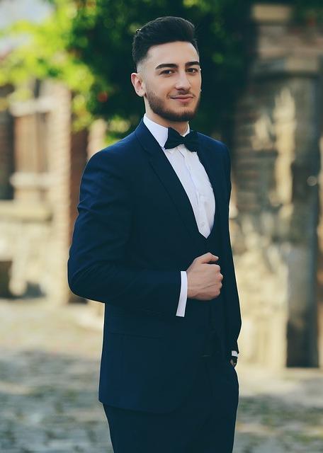 black prom suit