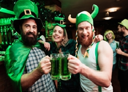enjoyment on st patricks day
