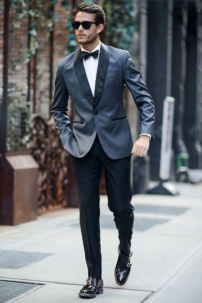 prom tuxedo black